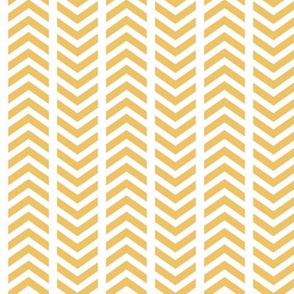 Comfy Broken Chevron Yellow