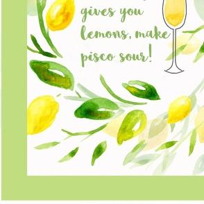 LemonsTeaTowelSpoonflower