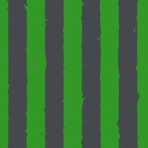 distress stripe gray green