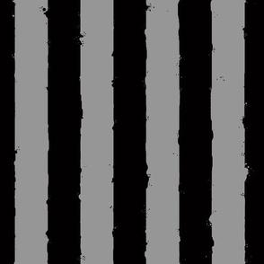 distress stripe black gray