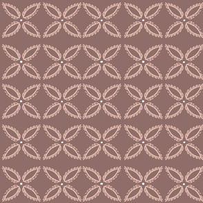 Mauve pink tiles