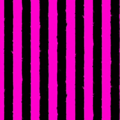 distress stripe black hot pink