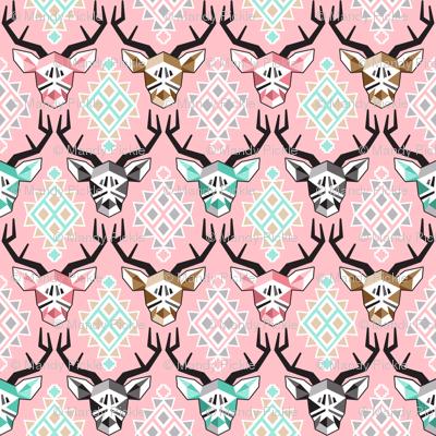Modern Pink Bucks