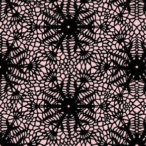 wrap_paper_crocus_snowflake_black_millennial_pink