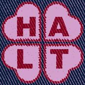 Light-Orchid HALT Hearts