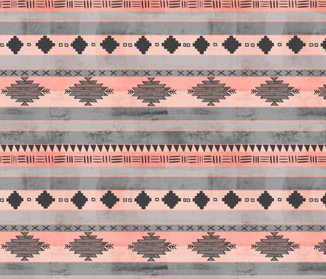 Tween Aztec tribal stripe fabric by mrshervi on Spoonflower - custom fabric