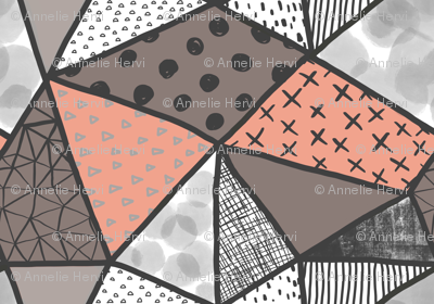 Coral charcoal geometry