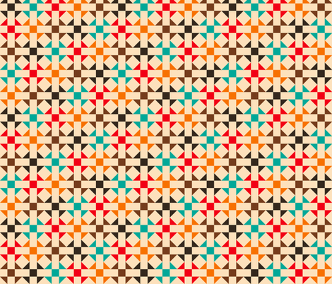 Geometric Pattern: Quilt: Summer fabric by red_wolf on Spoonflower - custom fabric
