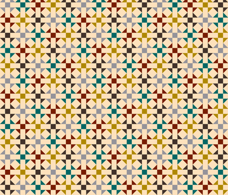 Geometric Pattern: Quilt: Autumn fabric by red_wolf on Spoonflower - custom fabric