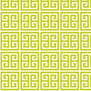 Geometric Pattern: Key Bridge: Green