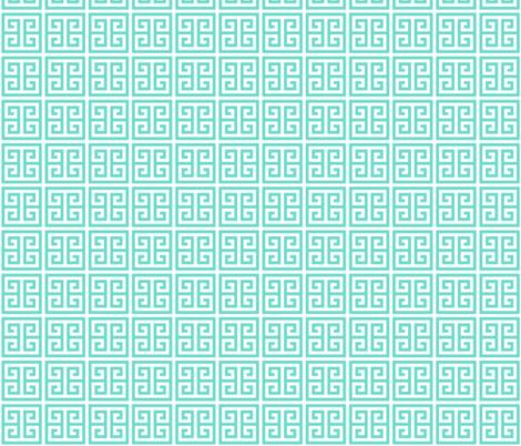 Geometric Pattern: Key Bridge: Blue fabric by red_wolf on Spoonflower - custom fabric