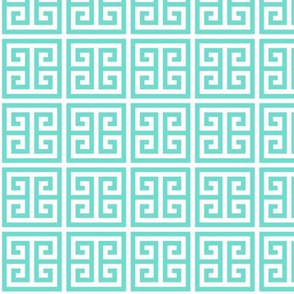 Geometric Pattern: Key Bridge: Blue