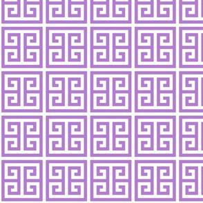 Geometric Pattern: Key Bridge: Purple