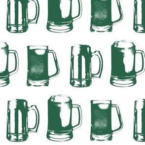 Jade Beer Mugs // Large