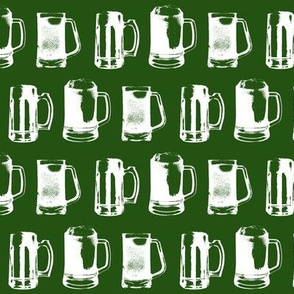 Beer Mugs // Emerald // Small