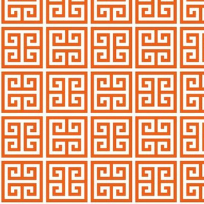 Geometric Pattern: Key Bridge Alternate: Orange