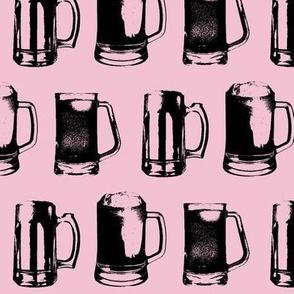 Beer Mugs // Mauve // Large
