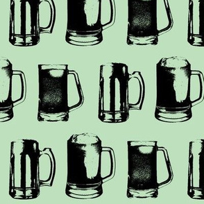 Beer Mugs // Spearmint // Large