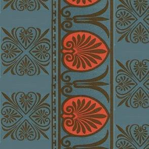 Turquoise Art deco