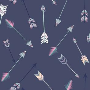 arrows violet