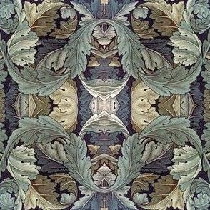 Vintage Leaf Pattern