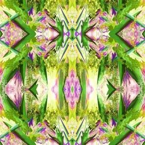 GF4  Mini Alien Fantasy in lime green, purple and fuchsia