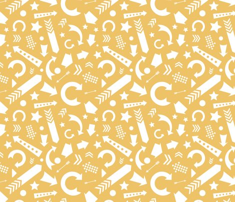 Rarrows_comfy-scattered-arrows-yellow-white_shop_preview
