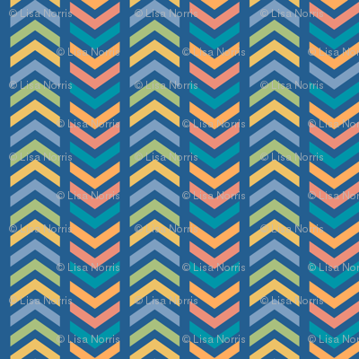 Comfy Striped Chevron Colorful