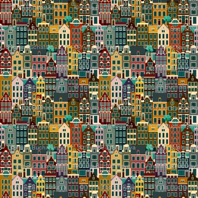 Amsterdam, retro colors