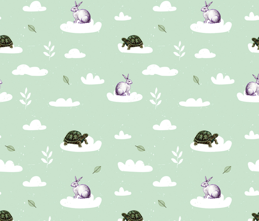 rabbit fabric by alborellalab on Spoonflower - custom fabric