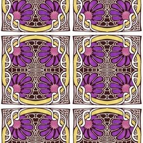 Blooming Purple Posies