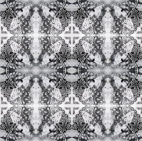 monochrome fabric by marigoldpink on Spoonflower - custom fabric