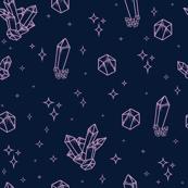Sparkly Crystals