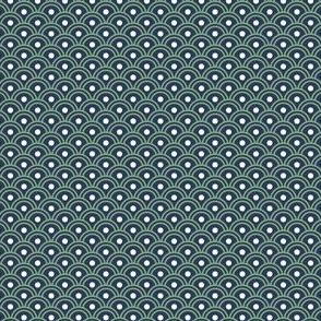Scales - GreenWhiteNavy