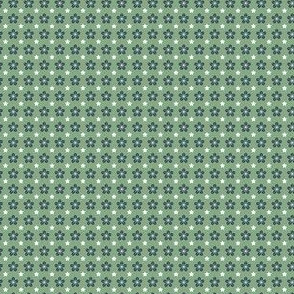Starflower - NavyWhiteGreen