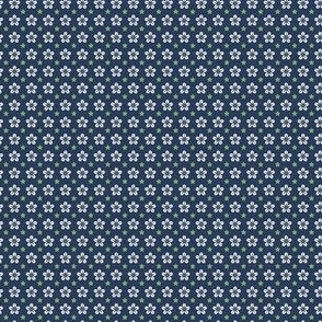 Starflower - WhiteGreenNavy