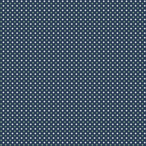 Stars - GreenWhiteNavy fabric by piecefulbee on Spoonflower - custom fabric