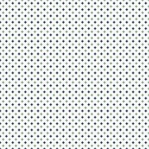 Stars - GreenNavyWhite
