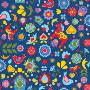 Swedish-Folk-Art-Garden-Scatter