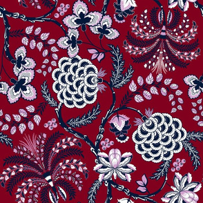 Ancient French Fabric (Limited Palette)