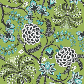 Ancient French Fabric (Palette 2)