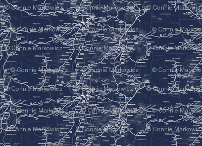 Navy Train Route Map
