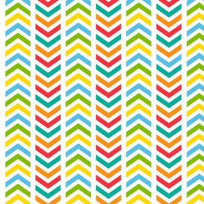 Playful Broken Chevron Colorful