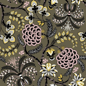 Ancient French Fabric (Palette 3)