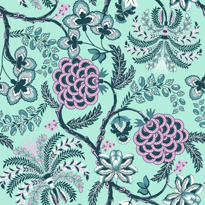 Ancient French Fabric (Palette 4)
