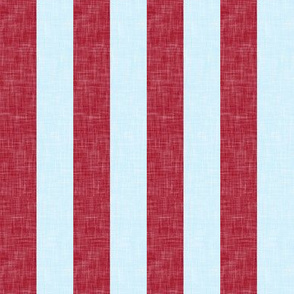 "red and blue stripes- 1"" -C18BS"