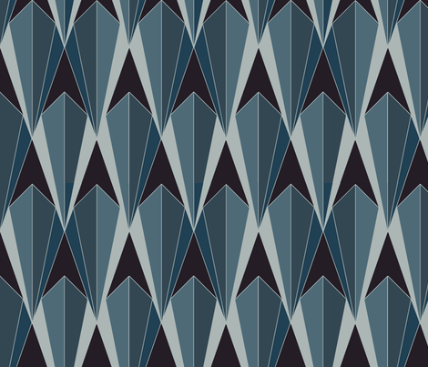 Diamond Deco Delight fabric by blink_on_my_nose_ on Spoonflower - custom fabric