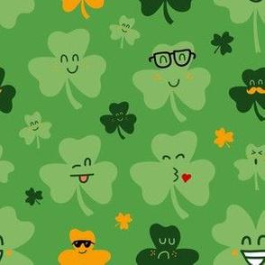 Shamrock Emojis