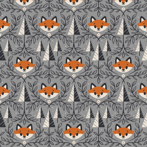 Woodland Foxes
