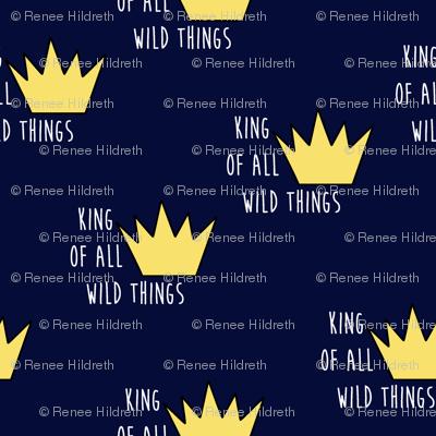wild things toss-navy